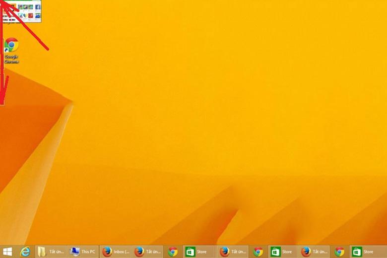 Cách tắt ứng dụng chạy ngầm trên laptop win 8 bằng tổ hợp phím Alt + F4