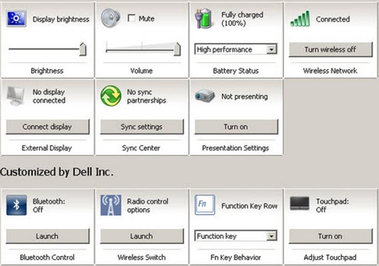 Cách tắt phím Fn trên laptop Dell win 10 bằng ứng dụng Dell QuickSet để bật tắt phím Fn
