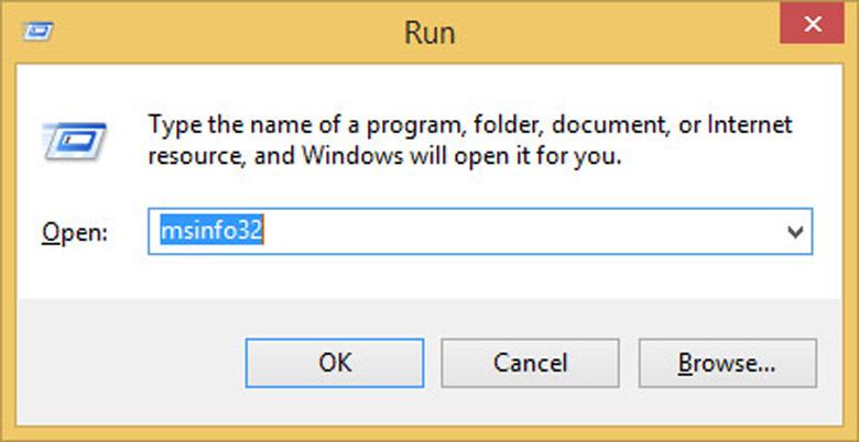 """Cách kiểm tra CPU của máy tính bằng lệnh """"Msinfo32"""" cực nhanh"""