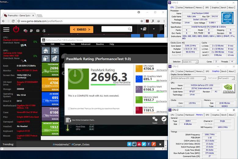 Cách test máy tính, laptop sử dụng phần mềm PerformanceTest9
