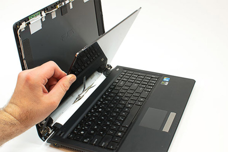 Khắc phục màn hình laptop bị sọc do lỗi màn hình