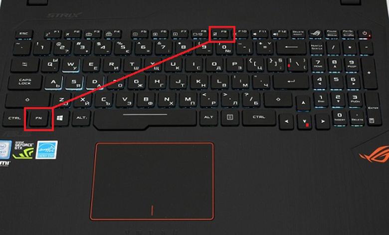 Cách tắt chuột cảm ứng trên laptop Asus bằng phím cứng