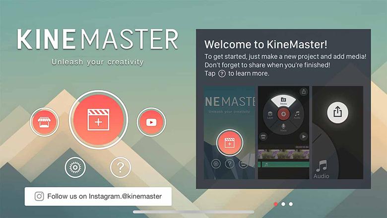 Cách chèn nhạc vào video trên điện thoại với phần mềm KineMaster