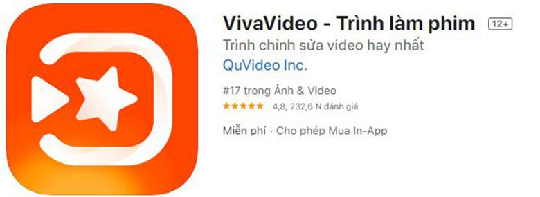 Cách chèn ảnh vào video trên điện thoại bằng VivaVideo