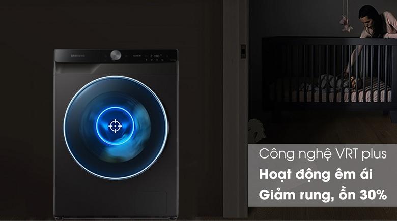 Công nghệ VRT Plus™ -Máy giặt sấy Samsung AI Inverter 14 kg WD14TP44DSB/SV lồng ngang