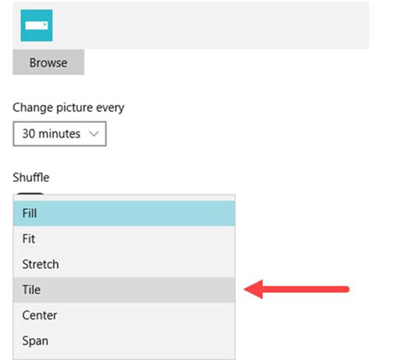 Cách đặt hình nền cho laptop Win 10 vào cài đặt chọn hiển thị hình ảnh