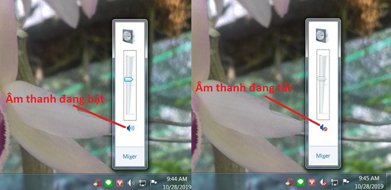Cách khắc phục loa laptop không nghe được kiểm tra lại âm lượng