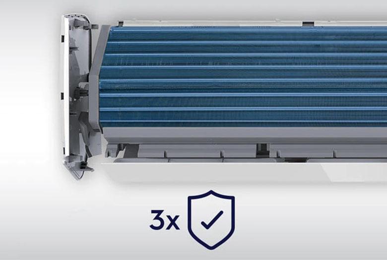 Chống ăn mòn - Điều hòa Electrolux 1 chiều Inverter 12000BTU ESV12CRR-C3