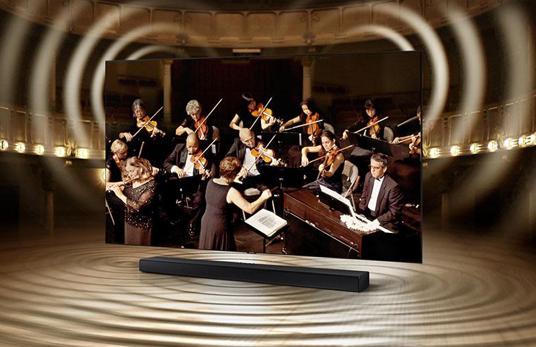 Q - Symphony - Loa Soundbar Samsung HW-Q600A/XV
