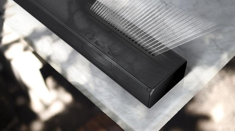 Cảm nhận rõ nét âm thanh - Loa Soundbar Samsung HW-Q600A/XV