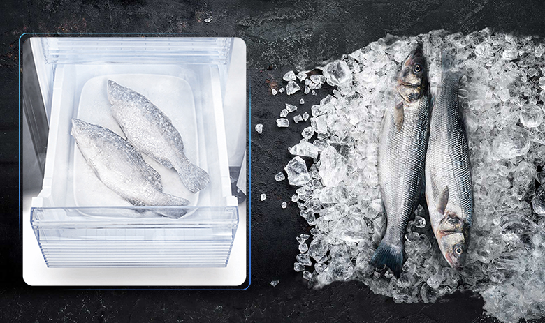 Tủ lạnh Sharp Inverter 520 lít SJ-FXP600VG-BK cấp đông sâu