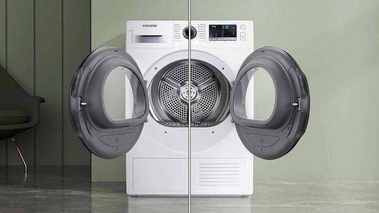 Cửa đảo chiều-Máy sấy bơm nhiệt Samsung Inverter 9 kg DV90TA240AE/SV