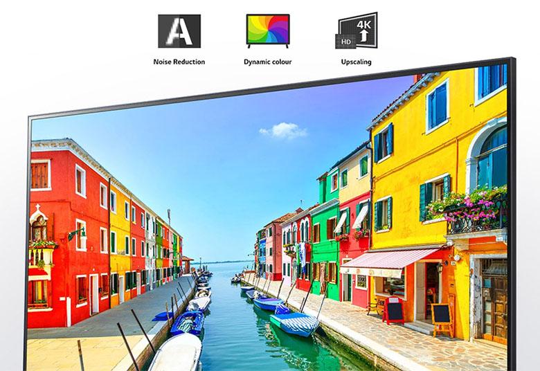Bộ xử lý lõi tứ 4K - Smart Tivi LG NanoCell 4K 55 inch 55NANO80TPA