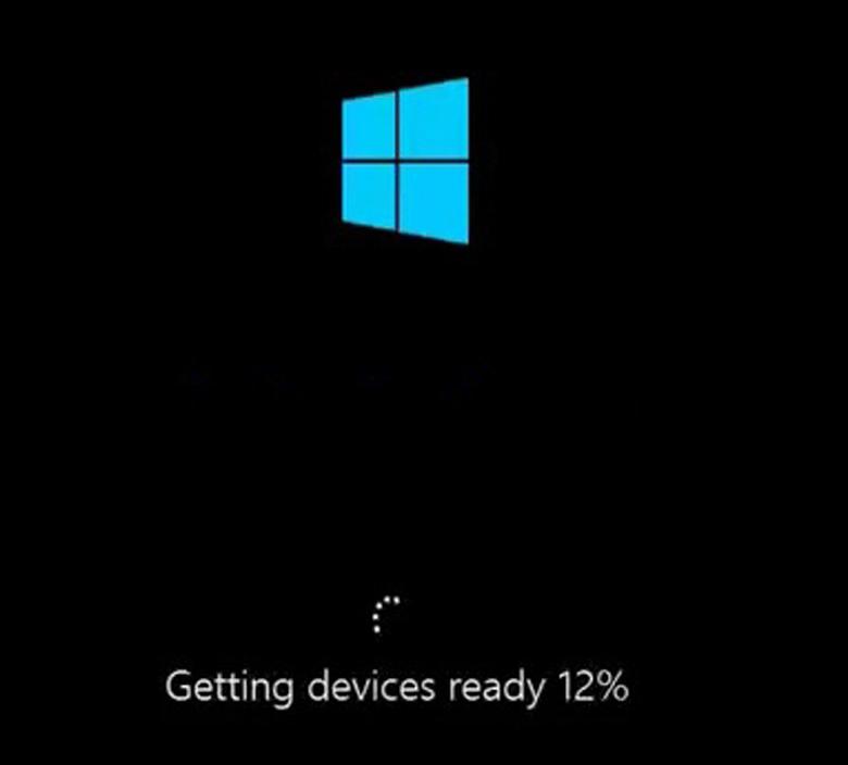 Cách cài Win 8 cho laptop xong bạn bắt đầu khởi động lại máy