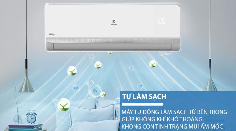 Tự động làm sạch - Điều hòa Electrolux 1 chiều Inverter 9000 BTU ESV09CRR-C7