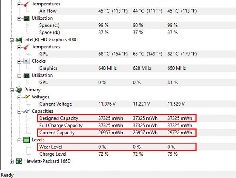 Sử dụng phần mềm CPUID HWMonitor cách kiểm tra chai pin laptop cực hot và nhanh chóng