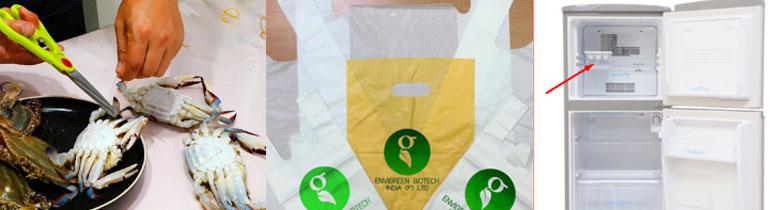 Cách bảo quản ghẹ tươi trong tủ lạnh: Đối với ghẹ đã sơ chế