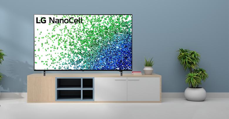 Thiết kế hiện đại - Smart Tivi LG NanoCell 4K 55 inch 55NANO80TPA