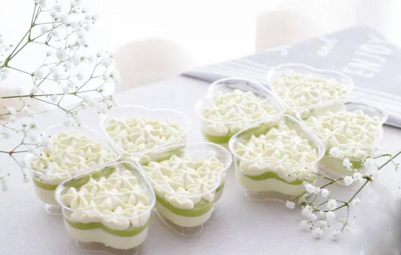 Cách làm kem bơ sầu riêng không trứng gà