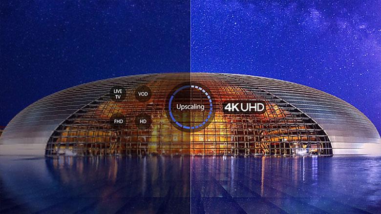 Công nghệ UHD 4K - Android Tivi TCL 4K 55 inch 55T65